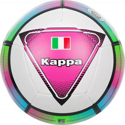 Мяч футбольный KappaМячи<br>Инновационный тренировочный мяч от kappa. Специальная конструкция из 18 больших панелей обеспечивает улучшенные аэродинамические характеристики.