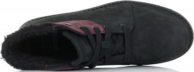 Фото 3 - Ботинки утепленные женские Caterpillar Fret Fur Fleece, размер 34.5 черного цвета