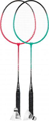 Набор для бадминтона Torneo (2 ракетки, 2 волана, чехол)