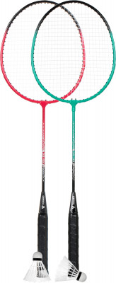 Набор для бадминтона Torneo (2 ракетки, 2 волана, чехол), размер Без размера
