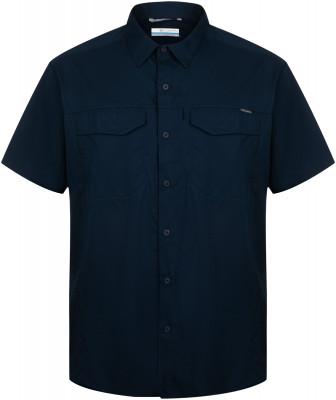 Рубашка с коротким рукавом мужская Columbia Silver Ridge Lite, размер 50-52