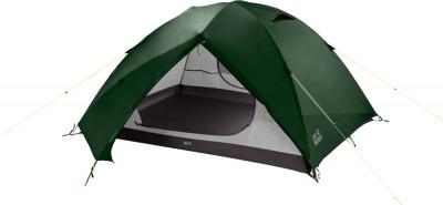JACK WOLFSKIN SKYROCKET III DOMEПалатки и тенты<br>Легкая трехсезонная палатка для трех человек от jack wolfskin подойдет для несложных походов.