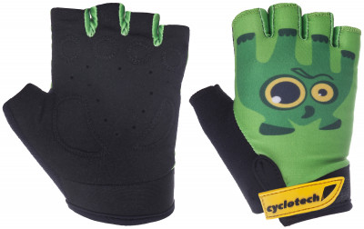 Перчатки велосипедные детские Cyclotech RacerВелосипедные перчатки cyclotech не дают рукам скользить на руле. Особенности модели: гасят неприятные вибрации; комфортная посадка; хорошая вентиляция.<br>Возраст: Дети; Пол: Мужской; Размер: 5; Материал верха: 45 % искусственная кожа, 45 % эластан, 10 % неопрен; Материал подкладки: Искусственная кожа; Тип фиксации: Резинка; Производитель: Cyclotech; Артикул производителя: 15RACR-XXS; Страна производства: Пакистан; Размер RU: 5;