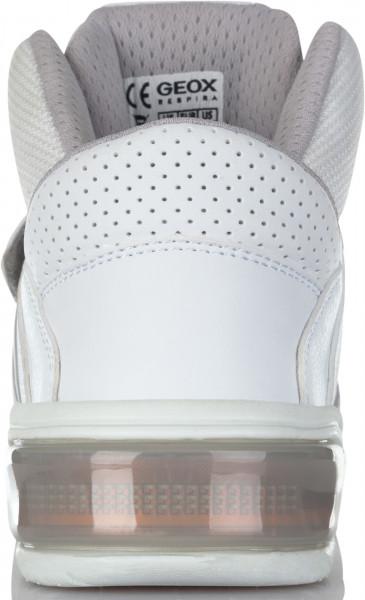 5960826fa4fe Кеды детские Geox Xled белый цвет - купить за 6999 руб. в интернет-магазине  Спортмастер