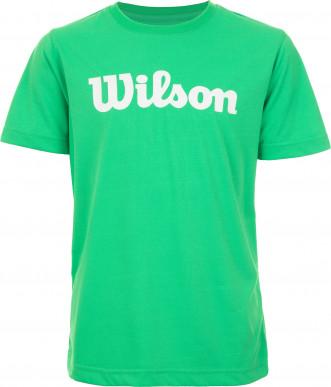Футболка для мальчиков Wilson Team Script Tech Tee