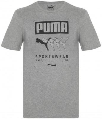Футболка мужская Puma Box Tee, размер 52-54