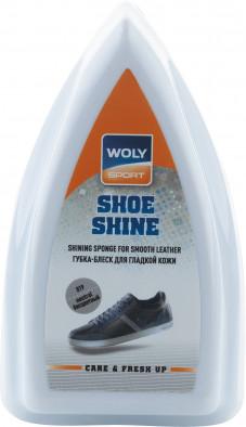 Губка-блеск для всех видов гладкой кожи Woly