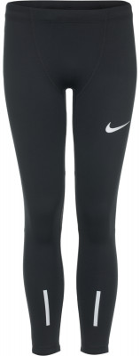 Легинсы для мальчиков Nike PowerЛегинсы для мальчиков от nike подойдут для занятий бегом.<br>Пол: Мужской; Возраст: Дети; Вид спорта: Бег; Силуэт брюк: Облегающий; Светоотражающие элементы: Есть; Компрессионный эффект: Есть; Количество карманов: 1; Материал верха: 85 % полиэстер, 15 % эластан; Технологии: Nike Dri-FIT; Производитель: Nike; Артикул производителя: 844313-010; Страна производства: Камбоджа; Размер RU: 158-170;