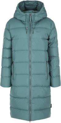 Пальто пуховое женское Jack Wolfskin Crystal Palace, размер 52-54