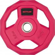 Блин стальной обрезиненный Kettler 2,5 кг, 2020-21