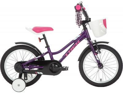 PRECALIBER GIRLS 16 (2019), размер 99-117Велосипеды<br>Детский велосипед от trek для города и парка. Модель подойдет малышам 4-5 лет ростом 99-117 см. Легкость легкая и прочная алюминиевая рама.
