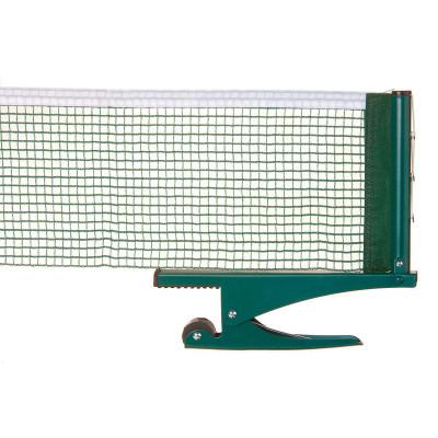 Сетка для настольного тенниса TorneoПрочная сетка для настольного тенниса. Просто и удобно крепится к столу.<br>Размер (Д х Ш), см: 180 х 14; Тип крепления: Клипа; Материалы: Сталь, нейлон; Вид спорта: Настольный теннис; Производитель: Torneo; Артикул производителя: TI-NS1000; Срок гарантии: 12 месяцев; Страна производства: Китай; Размер RU: Без размера;