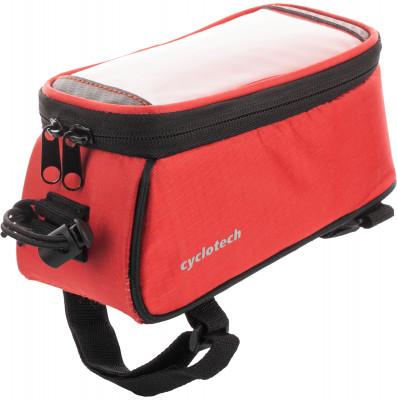 Сумка на руль велосипеда CyclotechВелосипедная сумка cyclotech.<br>Размеры (дл х шир х выс), см: 18 x 9 x 9; Материалы: 100 % полиэстер; Производитель: Cyclotech; Артикул производителя: CYC-22R.; Страна производства: Китай; Размер RU: Без размера;