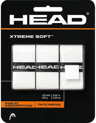 Намотка верхняя Head XtremeSoftЛипкая верхняя намотка head xtremesoft с дополнительной перфорацией обеспечивает комфорт и отлично впитывает влагу.<br>Пол: Мужской; Возраст: Взрослые; Вид спорта: Большой теннис; Материалы: Внутренний слой - нетканый материал, внешний слой - полиуретан; Состав: 100 % синтетический материал; Производитель: Head; Артикул производителя: 285104-WH; Срок гарантии: 1 год; Страна производства: Китай; Размер RU: Без размера;