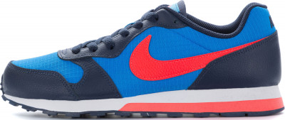 Кроссовки для мальчиков Nike MD Runner 2, размер 37,5Кроссовки <br>Легкие, прочные и воздухопроницаемые кроссовки для мальчиков nike md runner 2 (gs), дополненные оригинальными деталями в стиле 90-х годов.