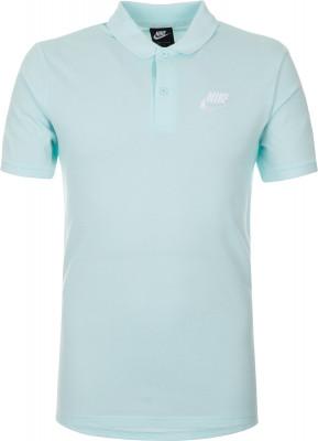 Поло мужское Nike Sportswear, размер 44-46Поло<br>Поло в классическом спортивном стиле nike sportswear. Натуральные материалы поло из мягкой и воздухопроницаемой хлопковой ткани.
