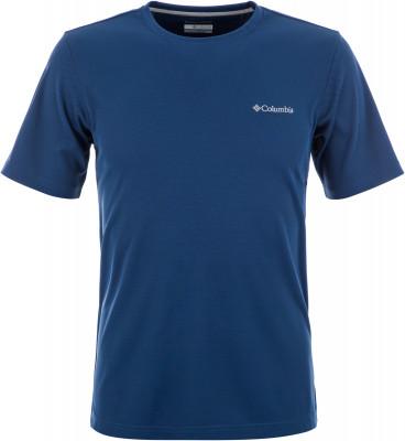 Футболка мужская Columbia Utilizer, размер 56-58Футболки<br>Мужская футболка из высококачественного синтетического материла от columbia станет удачным выбором для походов и активного отдыха на природе.