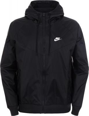 Ветровка мужская Nike Sportswear, размер 44-46Куртки <br>Классика от nike - ветровка nike sportswear windrunner, дизайн которой полностью повторяет легендарную модель 1978 года.