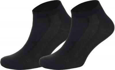 Носки Wilson, 2 парыУдобные яркие носки спортивного стиля wilson. Благодаря ткани, выполненной из полиэстера с добавлением эластана, они хорошо тянутся и не теряют форму после стирки.<br>Пол: Мужской; Возраст: Взрослые; Вид спорта: Спортивный стиль; Дополнительная вентиляция: Да; Материалы: 98 % полиэстер, 2 % эластан; Производитель: Wilson; Артикул производителя: W578-B; Страна производства: Китай; Размер RU: 37-42;