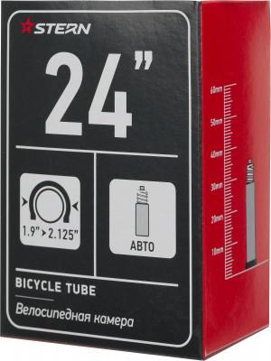 Камера Stern 24 автониппелЗапчасти<br>Велосипедная камера с автониппелем от stern. Особенности модели диаметр камеры составляет 24 дюйма.