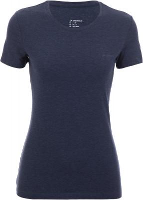 Футболка женская Demix, размер 50-52Футболки<br>Практичная футболка в спортивном стиле от demix. Устойчивость к износу смесовая ткань приятна на ощупь и хорошо сохраняет форму.