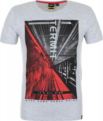 Футболка мужская Termit, размер 46Skate Style<br>Комфортная футболка termit с оригинальной графикой - для тех, кто хочет выделиться из толпы.