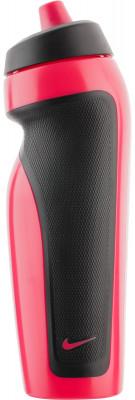 Бутылка для воды Nike Accessories, розоваяБутылка для воды nike герметичный клапан не позволяет воде расплескиваться; объем 600 мл; асимметричный дизайн для одной руки обеспечивает удобство при использовании во врем<br>Состав: 59 % полиэтилен, 24 % термопластик эластомер, 16 % полипропилен, 1 % силикон; Объем: 0,6 л; Вид спорта: Фитнес; Производитель: Nike Accessories; Артикул производителя: 9.341.009.649.; Размер RU: 600 мл;