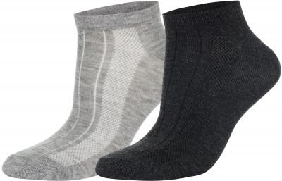 Носки Wilson, 2 парыУдобные яркие носки спортивного стиля wilson. Благодаря ткани, выполненной из полиэстера с добавлением эластана, они хорошо тянутся и не теряют форму после стирки.<br>Пол: Мужской; Возраст: Взрослые; Вид спорта: Спортивный стиль; Дополнительная вентиляция: Да; Материалы: 98 % полиэстер, 2 % эластан; Производитель: Wilson; Артикул производителя: W578-H; Страна производства: Китай; Размер RU: 43-46;