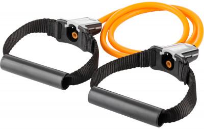 Набор для тренировок с силовыми тросами (легкое сопротивление) SKLZВ наборе resistance cable set: прочный универсальный силовой трос, ручки flex handles, которые можно мгновенно заменить, и держатель на дверь door anchor, который подойдет п<br>Размеры (дл х шир х выс), см: 122 x 1,27; Вес, кг: 0,4; Состав: Крепление на дверь: хлопок 55%, этиленвинилацетат 30%, пластик 15%, Силовой трос: латекс 100%, Ручка для троса: Хлопок 10%, этиленвинилацетат 10%, пластик 80%; Сопротивление: 6,8 кг; Вид спорта: Фитнес; Технологии: Slide NLock; Производитель: SKLZ; Артикул производителя: RESC15-LGT; Страна производства: Китай; Размер RU: Без размера;