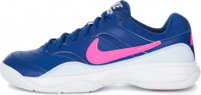 Кроссовки женские Nike Court Lite, размер 35,5Кроссовки <br>Кроссовки для тенниса nike court lite с верхом из кожи и сетки и амортизирующей подошвой обеспечивают устойчивость и комфорт на корте.