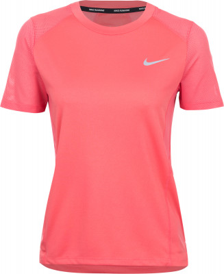 Футболка женская Nike MilerЖенская футболка nike miler станет отличным выбором для бега благодаря продуманной конструкции и технологичному материалу.<br>Пол: Женский; Возраст: Взрослые; Вид спорта: Бег; Покрой: Свободный; Дополнительная вентиляция: Да; Производитель: Nike; Артикул производителя: 932499-823; Страна производства: Камбоджа; Материалы: 100 % полиэстер; Размер RU: 40-42;