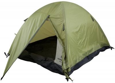 Outventure DOME 3Классическая трехместная палатка для отдыха на природе. Идеальный вариант для пикников и походов выходного дня благодаря простоте установки и малому весу.<br>Назначение: Туристические; Количество мест: 3; Наличие внутренней палатки: Да; Тип каркаса: Внутренний; Геометрия: Полусфера; Вес, кг: 3,2; Размер в собранном виде (д х ш х в): 300 x 190 x 125 см; Размер в сложенном виде (дл. х шир. х выс), см: 80 х 20 х 20; Размер тамбура (д х ш х в): 80 х 190 см; Количество комнат: 1; Количество входов: 1; Вентиляционные окна: Да; Количество вентиляционных окон: 1; Диаметр дуг: 7,9 мм; Внешний тент: Да; Усиленные углы: Да; Количество оттяжек: 4; Крепление для фонаря: Да; Водонепроницаемость тента: 2000 мм в.ст.; Водонепроницаемость дна: 10 000 мм в.ст.; Проклеенные швы: Да; Противомоскитная сетка: Да; Материал тента: Полиэстер; Материал внутренней палатки: Полиэстер; Материал дна: Армированный полиэтилен; Материал каркаса: Фибергласс; Материал колышков: Сталь; Вид спорта: Походы; Производитель: Outventure; Артикул производителя: KE146G4; Срок гарантии: 2 года; Страна производства: Бангладеш; Размер RU: Без размера;