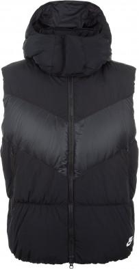 8e8b9908 Жилет пуховой мужской Nike Sportswear черный цвет — купить за 9999 ...