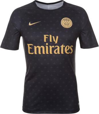 Футболка мужская Nike Dry Paris Saint-Germain, размер 50-52Футболки<br>Мужская футболка nike dry paris saint-germain squad для комфорта на футбольном поле и эффективных тренировок.