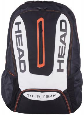 Рюкзак Head Tour TeamПрактичный рюкзак head tour team для четырех ракеток.<br>Размеры (дл х шир х выс), см: 36 х 55 х 18; Материал верха: 90 % полиэстер, 10 % полиуретан; Количество отделений: 2; Вид спорта: Большой теннис; Срок гарантии: 1 год; Производитель: Head; Артикул производителя: 283477; Страна производства: Китай; Размер RU: Без размера;