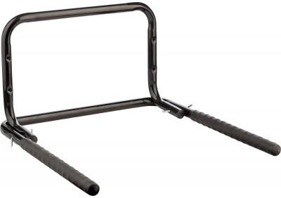 Держатель CyclotechДержатель для двух велосипедов особенности модели крепится на стену; рассчитан на вес 30 кг.<br>Размеры (дл х шир х выс), см: 52 x 52 x 2,5; Материалы: Металл; Вид спорта: Велоспорт; Производитель: Cyclotech; Артикул производителя: CBWH-2.; Страна производства: Китай; Размер RU: Без размера;