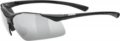 Солнцезащитные очки UvexУдобная модель с хорошим обзором в лаконичном дизайне. Идеальная защита от брызг и ветра.<br>Цвет линз: Серебристый зеркальный; Назначение: Активный отдых; Пол: Мужской; Возраст: Взрослые; Вид спорта: Активный отдых; Ультрафиолетовый фильтр: Да; Зеркальное напыление: Да; Материал линз: Поликарбонат; Оправа: Пластик; Технологии: 100% UVA- UVB- UVC-PROTECTION, LITEMIRROR; Производитель: Uvex; Артикул производителя: S5309822216; Срок гарантии: 1 месяц; Страна производства: Китай; Размер RU: Без размера;