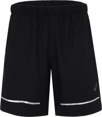 Шорты мужские ASICS Lite-Show, размер 46-48Мужская одежда<br>Комфортные шорты asics - отличный вариант для забегов на длинные дистанции и интенсивных тренировок.