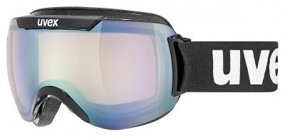 Маска горнолыжная Uvex Downhill 2000Маска для катания на горных лыжах или сноуборде. Модель можно использовать в любую погоду.<br>Сезон: 2017/2018; Пол: Мужской; Возраст: Взрослые; Вид спорта: Горные лыжи; Погодные условия: Любая погода; Защита от УФ: Да; Цвет основной линзы: Голубой; Поляризация: Нет; Вентиляция: Да; Покрытие анти-фог: Да; Совместимость со шлемом: Да; Сменная линза: Опционально; Материал линзы: Поликарбонат; Материал оправы: Полиуретан; Конструкция линзы: Двойная; Форма линзы: Сферическая; Возможность замены линзы: Есть; Производитель: Uvex; Технологии: 100% UVA- UVB- UVC-PROTECTION, Supravision, VARIOMATIC; Артикул производителя: 0110; Срок гарантии: 2 года; Страна производства: Германия; Размер RU: Без размера;