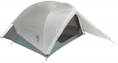 Mountain Hardwear Ghost UL 2 TentУльтралегкая двухместная палатка для тех, кто привык ходить быстро и налегке алюминиевые дуги dac featherlight nsl. Легкость вес палатки всего 1, 16 кг.<br>Назначение: Трекинговые; Количество мест: 2; Наличие внутренней палатки: Да; Тип каркаса: Внутренний; Геометрия: Нестандартная; Вес, кг: 1,2; Размер в собранном виде (д х ш х в): 220 x 142 x 92 см; Размер в сложенном виде (дл. х шир. х выс), см: 50 x 15; Размер тамбура (д х ш х в): 82 x 142 см; Количество комнат: 1; Количество входов: 1; Диаметр дуг: 8,05 мм, 8,5 мм; Внешний тент: Да; Усиленные углы: Да; Количество оттяжек: 7; Водонепроницаемость тента: 1200 мм в.ст.; Водонепроницаемость дна: 1200 мм в.ст.; Проклеенные швы: Да; Противомоскитная сетка: Да; Защита от УФ: Да; Материал тента: Нейлон; Материал внутренней палатки: Нейлон; Материал дна: Нейлон; Материал каркаса: Алюминий; Материал колышков: Алюминий; Вид спорта: Походы; Производитель: Mountain Hardwear; Артикул производителя: 1650841063; Срок гарантии: 1 год; Страна производства: Вьетнам; Размер RU: Без размера;