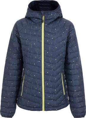 Куртка утепленная женская Columbia Powder Lite, размер 48Куртки <br>Утепленная женская куртка columbia powder lite создана для походов и активного отдыха на природе.