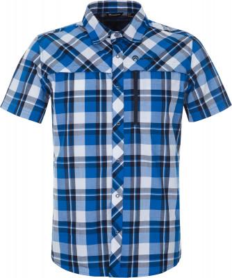 Рубашка мужская Outventure, размер 58Рубашки<br>Удобная рубашка с коротким рукавом от outventure пригодится во время активного отдыха на природе практичность в модели предусмотрен нагрудный карман.