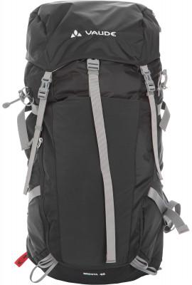 VauDe Multi-SportЭргономичный спортивный рюкзак для пешего туризма vaude brenta 40. Вентиляция вентилируемая система подвески aeroflex easy adjust.<br>Объем: 40 л; Размеры (дл х шир х выс), см: 61 х 33 х 29; Вес, кг: 1,3; Материал верха: Полиамид с полиуретановым покрытием; Материал подкладки: Полиамид с полиуретановым покрытием; Боковые стяжки: Да; Вентилируемые лямки: Да; Вентиляция спины: Да; Верхний клапан: Да; Регулировка клапана: Нет; Боковые карманы: Да; Нагрудный ремень: Да; Поясной ремень: Да; Чехол от дождя: Да; Крепление для шлема: Нет; Крепление для ледового инструмента: Нет; Крепление для палок: Да; Отделение для ноутбука: Нет; Фронтальный карман: Да; Доступ в боковое отделение: Да; Доступ в нижнее отделение: Нет; Срок гарантии: 1 год; Вид спорта: Кемпинг, Походы; Размер RU: Без размера;