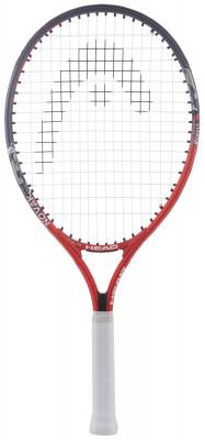 Ракетка для большого тенниса детская Head Novak 21Детская ракетка novak подойдет малышам 4-6 лет, которые только начинают знакомство с теннисом.<br>Вес (без струны), грамм: 180; Размер головы: 520 кв. см; Длина: 53,5 см; Материалы: Алюминий; Наличие струны: В комплекте; Наличие чехла: В комплекте; Вид спорта: Большой теннис; Технологии: Damp+; Производитель: Head; Артикул производителя: 233627; Срок гарантии: 1 год; Страна производства: Китай; Размер RU: Без размера;