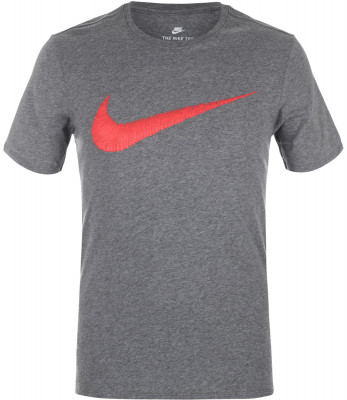 Футболка мужская Nike Sportswear SwooshМужская футболка в спортивном стиле от nike. Уникальный дизайн спереди расположен фирменный логотип swoosh. Натуральные материалы модель полностью выполнена из хлопка.<br>Пол: Мужской; Возраст: Взрослые; Вид спорта: Спортивный стиль; Покрой: Прямой; Производитель: Nike; Артикул производителя: 707456-071; Материалы: 100 % хлопок; Размер RU: 46-48;