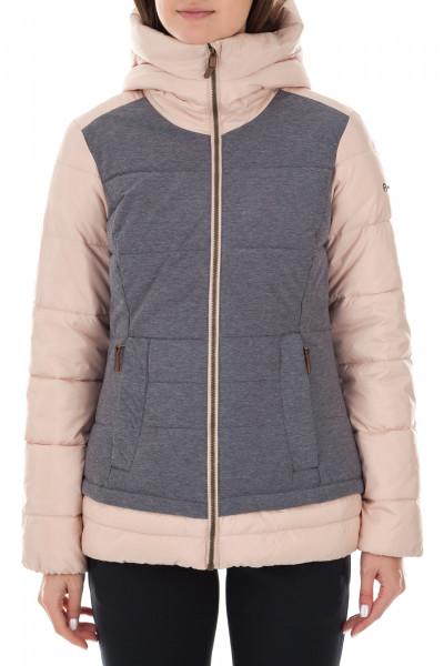 579f558c0e6 Куртка утепленная женская Outventure розовый серый цвет - купить за 2499 руб.  в интернет-магазине Спортмастер