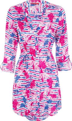 Туника женская Exxtasy Marennes, размер 44Surf Style <br>Женская туника для активного пляжного отдыха от exxtasy. Свобода движений свободный крой не стесняет движения. Комфорт плоские швы препятствуют натиранию кожи.