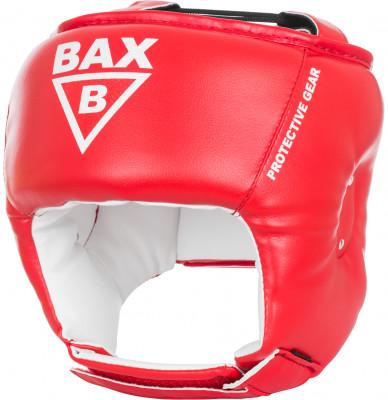 Шлем детский BAXПрочный и долговечный шлем из синтетической кожи защитит голову, сохранив при этом угол обзора, чтобы ребенок смог лучше наблюдать за действиями своего партнера.<br>Материал верха: Кожзаменитель с двойным слоем полиуретана; Материал подкладки: Кожзаменитель (экокожа); Материал наполнителя: Изолон, пенополиуретан; Вид спорта: Бокс, Карате, ММА; Производитель: Bax; Артикул производителя: HPR9; Размер RU: 57-58;