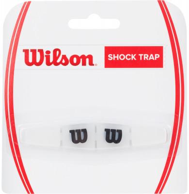 Виброгаситель Wilson Shock TrapВиброгаситель из резины и силикона эффективно поглощает вибрации, снижая неприятные ощущения от удара по мячу и защищая суставы.<br>Материалы: Полимерные материалы; Вид спорта: Теннис; Производитель: Wilson; Артикул производителя: WRZ537000; Страна производства: Китай; Размер RU: Без размера;
