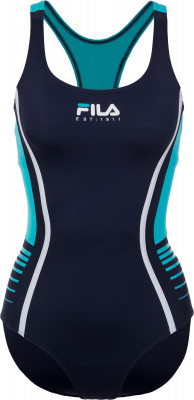 Купальник женский Fila, размер 50Купальники <br>Технологичный женский купальник от fila подойдет для занятий в бассейне.